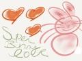 3 Hearts- Super Bunny Love