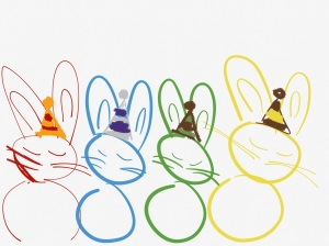 Wizard bunnies
